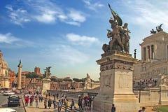 ROM, ITALIEN - 7. April 2016 Marktplatz Navona, Rom Italien Eine Gruppe Lizenzfreie Stockfotos