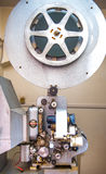 Rom, Italien - 22. April 2015 Weinlesefachmann 16 Millimeter-Projektor Stockbild