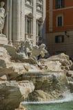 ROM, ITALIEN - AUGUST 2018: Fountain de Trevi in Rom, Italien lizenzfreies stockfoto