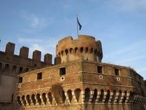 Rom, Italien - Castel Sant ' Angelo Stockbild