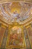 ROM, ITALIEN, 2016: Der Christus der Erlöser im Ruhm durch N Circignani u. x28; 1588& x29; lizenzfreies stockfoto