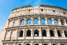 ROM, Italien: Gro?er Roman Colosseum Coliseum, Colosseo alias Flavian Amphitheatre Ber?hmter Weltmarkstein stockfoto