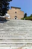 ROM, ITALIEN - 23. JUNI 2017: Erstaunliche Ansicht von Spalte und von Forum Trajan in der Stadt von Rom Lizenzfreie Stockbilder