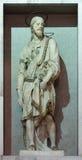 ROM, ITALIEN - 12. MÄRZ 2016: Die Statue von St. Jakob in del Sacro Cuore Kirche Chiesa di Nostra Signora Lizenzfreie Stockfotografie
