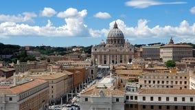 rom Italien 21. Mai 2019 der Bereich vor Vatikan Der populärste touristische Bestimmungsort in Rom Gro?e Spalten stock video footage