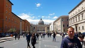 rom Italien 21. Mai 2019 der Bereich vor Vatikan Der populärste touristische Bestimmungsort in Rom Gro?e Spalten stock footage