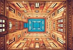rom Italien Perfekte klassische Dekoration stockfotografie