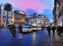 Rom, Italien (Piazza di Spagna) Lizenzfreie Stockfotos