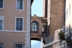 Rom, Kapitol-Palasteinzelheit Lizenzfreies Stockfoto