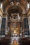 Rom-Kirche stockbilder