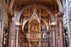 Rom-Kirche stockfoto