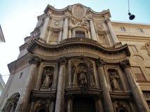 Rom - Kirche von San Carlo bei vier Brunnen Lizenzfreie Stockfotografie