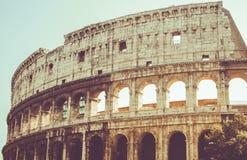 Rom, Kolosseum in der Sonne Lizenzfreie Stockfotos