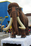 ROM mammoth float at Toronto Santa Claus Parade Royalty Free Stock Photos