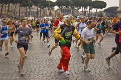 Rom-Marathon Stockbilder