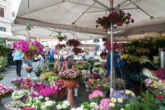 Rom, Markt Campo-Des 'Fiori Stockfotografie