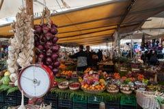 Rom, Markt Campo-Des 'Fiori Stockfoto