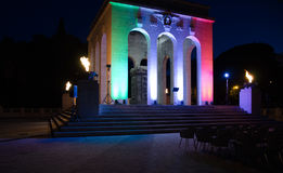 Rom, Mausoleum und ossary auf Gianicolo Lizenzfreies Stockfoto