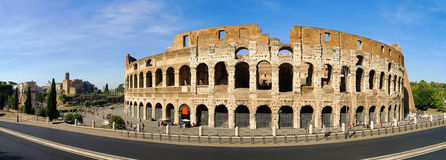 ROM-minne Colosseum Arkivbilder