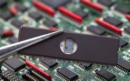 ROM-MINNE IC Fotografering för Bildbyråer