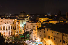 Rom nachts Italien Lizenzfreies Stockbild