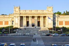 ROM 6. OKTOBER: Das Galleria Nazionale-d'Arte Moderna oder National Gallery der moderner Kunst am 6. Oktober 2011 in Rom, Italien. Lizenzfreie Stockfotografie