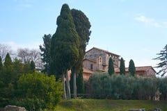 Rom Palatine Stockfotografie