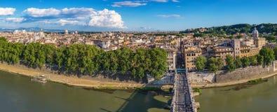 Rom-Panoramastadtskyline - Italien Lizenzfreie Stockfotografie