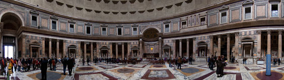 Rom, Pantheon Lizenzfreie Stockfotos
