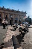 Rom-Polizei Stockfoto
