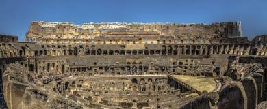 Rom-` s colosseum vom Innere Stockfoto