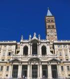 Rom: Santa Maria la Maggiore-Kirche Stockbilder