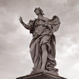 Rom santangelo castel статуи, Италия Стоковое Изображение