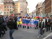 Rom, Sozialereignis stockbilder