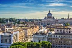 Rom-Stadtskyline - Rom - Italien Lizenzfreie Stockbilder