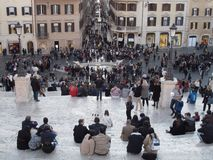 Rom-Stadtzentrum stockfoto