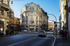 Rom-Straße Stockfoto