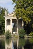 Rom, Tempel von Aesculapius Stockfotos