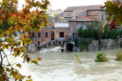 Rom- - Tiber-Insel Lizenzfreie Stockfotos