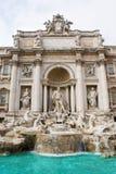 Rom, Trevi-Brunnen Stockfotos