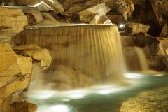 Rom: Trevi-Brunnen nachts Lizenzfreie Stockfotografie
