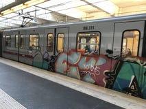 Rom-U-Bahn stockfotografie