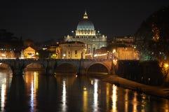 Rom und Leuchten Stockfotos