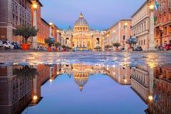 Rom, Vatikanstadt lizenzfreie stockfotografie