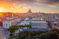 Rom, Vatikanstadt stockbilder