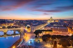 Rom, Vatikanstadt stockfoto