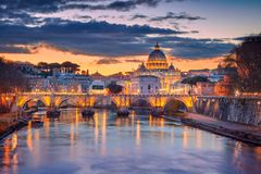 Rom, Vatikanstadt stockfotografie