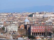 Rom von oben Stockfotografie