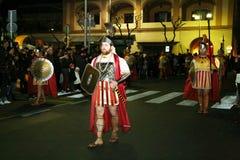 Romańscy żołnierze Fotografia Stock