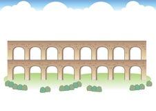 Romańscy akweduktów wizerunki royalty ilustracja